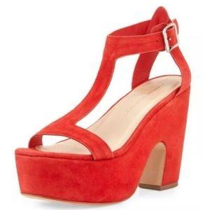 Loeffler Randall Minette High Platform Poppy Heels